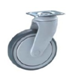 Plastic Body Swivel Top Plate 100mm